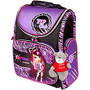 Школьный рюкзак – ранец HummingBird VIP Club CatStyle K67 с мешком для обуви