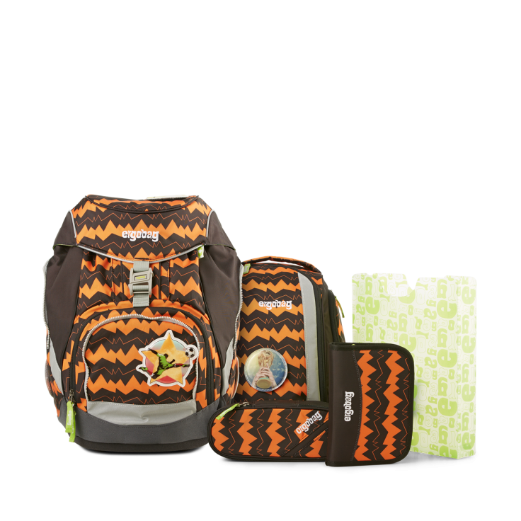 Рюкзак Ergobag BEAReferee с наполнением + светоотражатели в подарок, - фото 1