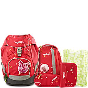 Рюкзак Ergobag Princess с наполнением + светоотражатели в подарок
