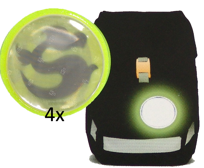 Рюкзак Ergobag LumBearjack с наполнением + светоотражатели в подарок, - фото 25