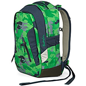 Рюкзак Ergobag Satch Sleek цвет Green Camou