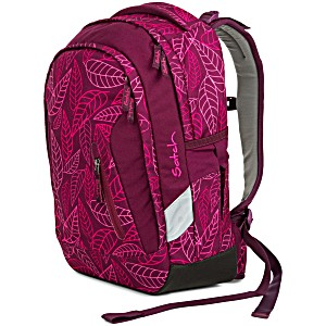 Рюкзак Ergobag Satch Sleek цвет Purple Leaves