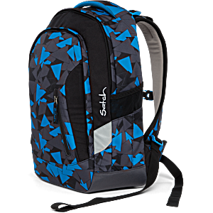 Рюкзак Ergobag Satch Sleek цвет Blue Triangle